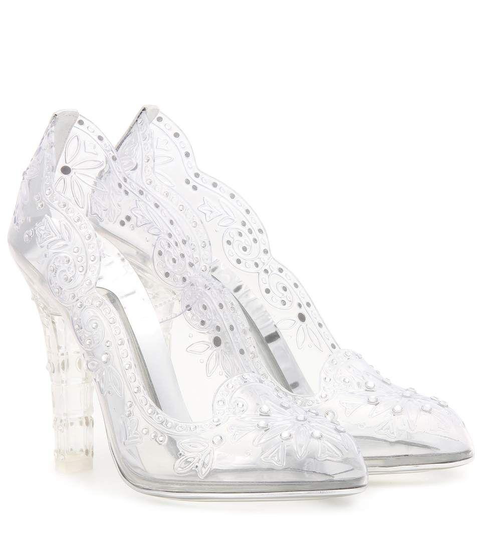 c32e85337c67 DOLCE   GABBANA Cinderella Embellished Transparent Pumps.  dolcegabbana   shoes  pumps