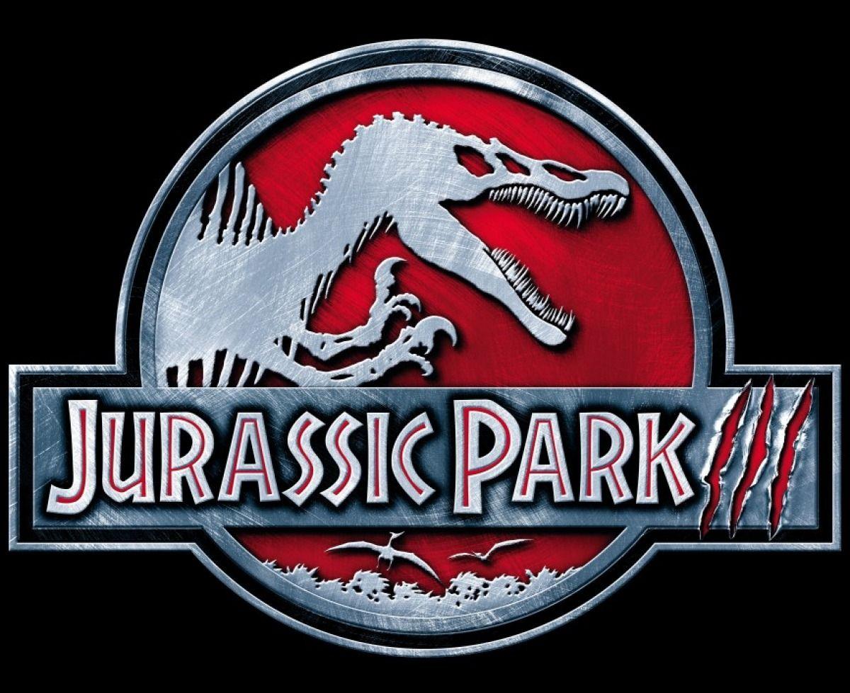 Jurassic Park 3 logo Jurassic park movie, Jurassic park