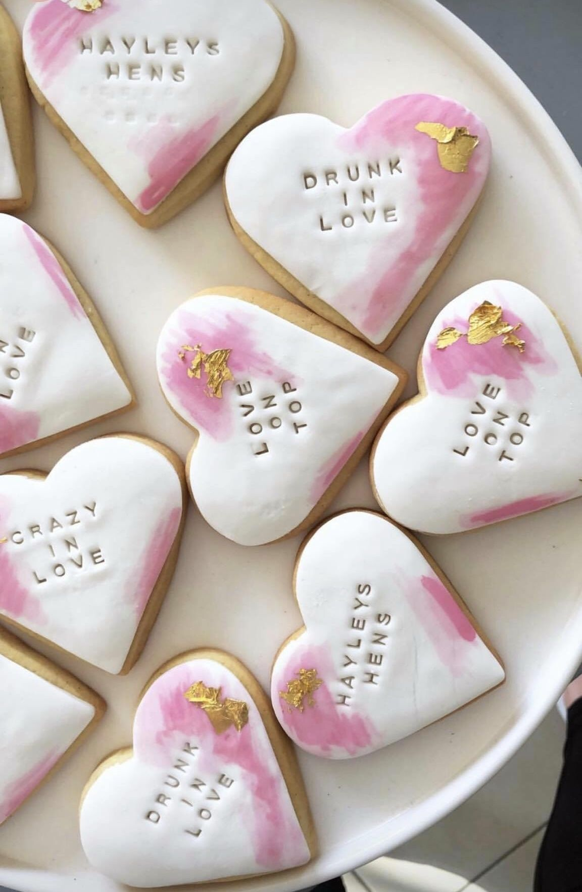 Cookies Hens Celebration Love Cookies Wedding Cookies Hens