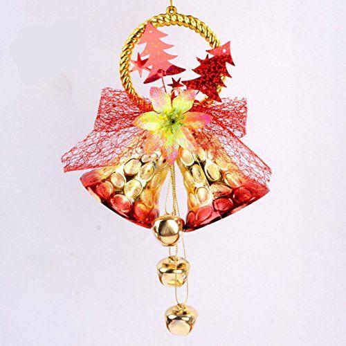 Small Decorative Bells Yj Christmas Crazy Romantic Flower Star Tree Net Cloth Small Bell