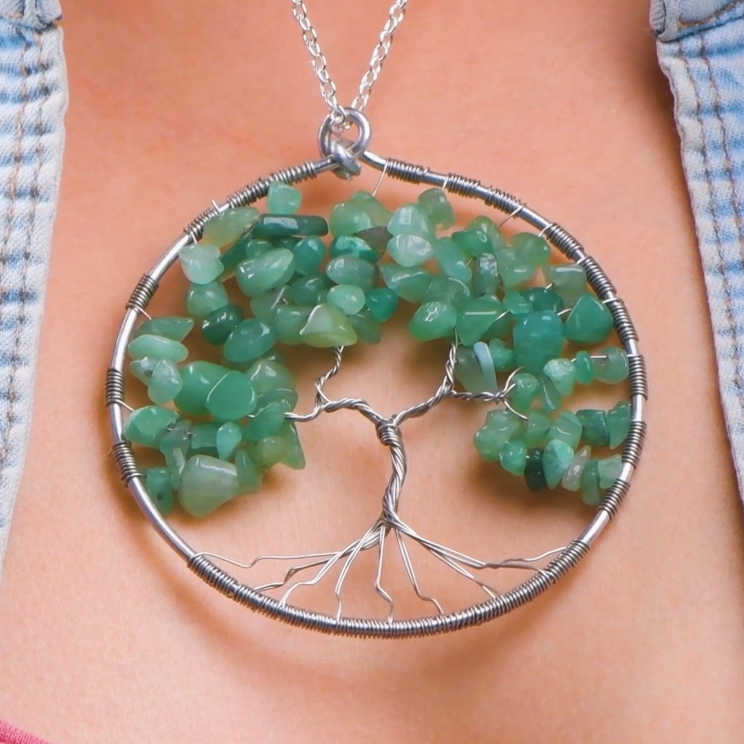 Photo of DIY Tree Pendant