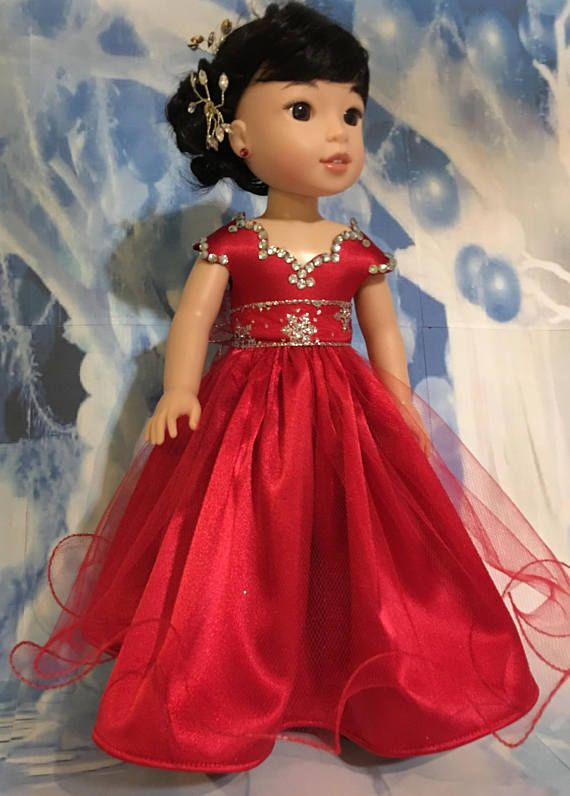 PATTERN for a Wellie Wisher Ball Gown | Ball gowns, Patterns and Dolls