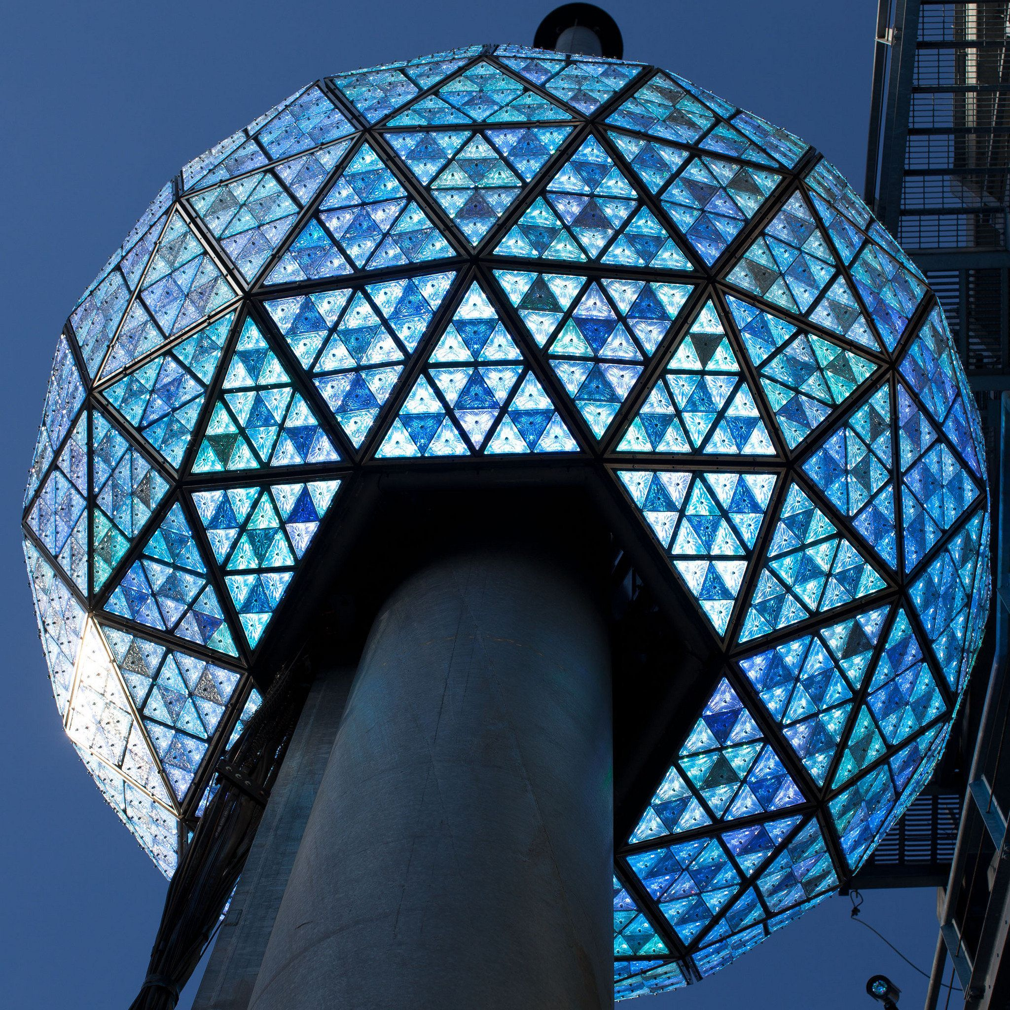 New Year's Eve | associated press the times square new year s eve ball rises to the top ...