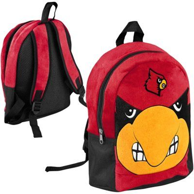 320bce3d8fbd Buy Louisville Cardinals Youth Mini Plush Mascot Backpack from the Official  Louisville Cardinals Shop. Louisville fans buy Louisville Cardinals Youth  Mini ...