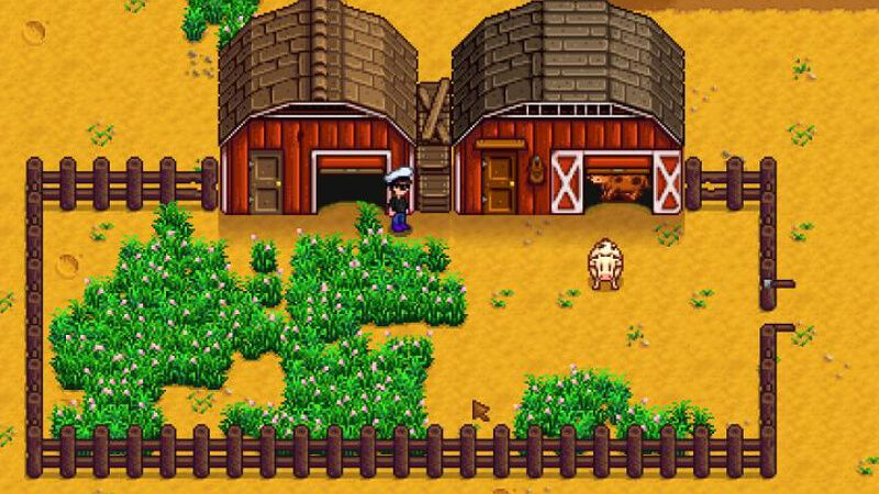 Cow Dairy Animal Cow Stardew Valley Animals