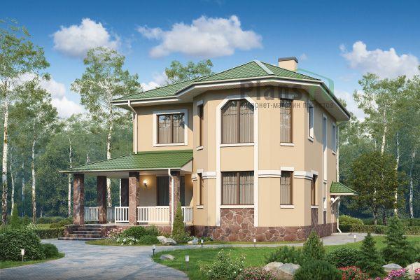 Проект дома из пеноблоков 57-13 | Дом, Проекты домов ...