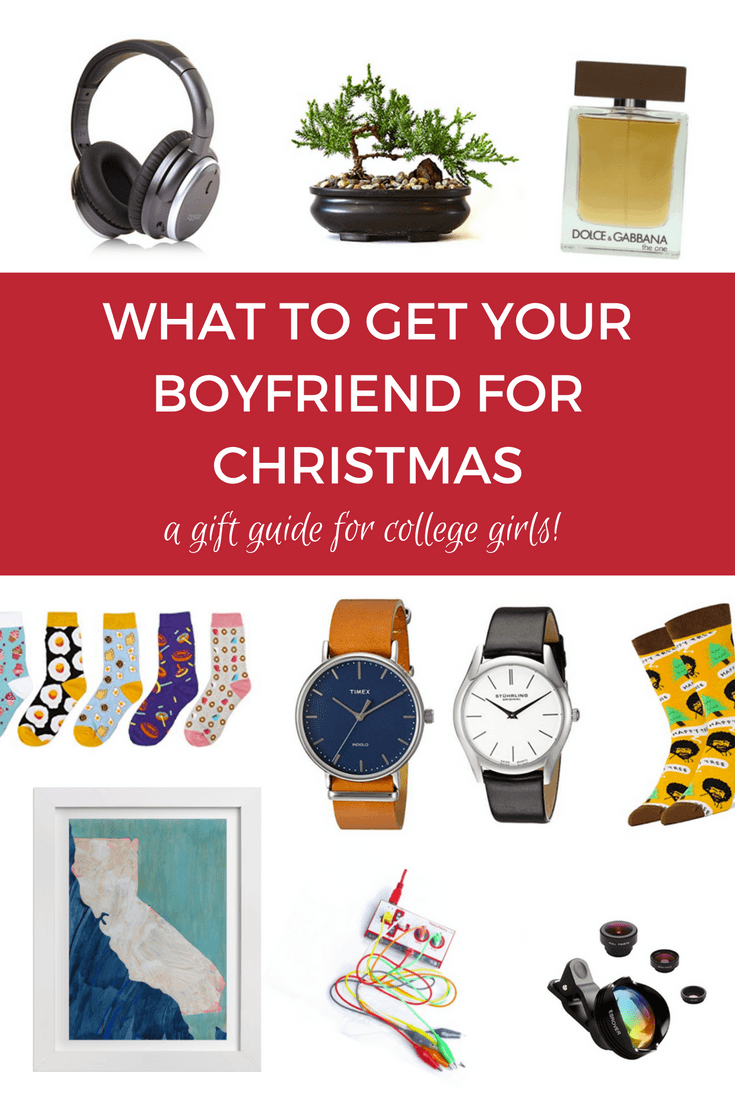 I totally love these gift suggestions! Super helpful. - What To Get Your Boyfriend for Christmas. Click through to read and save for later! via @saralaughed