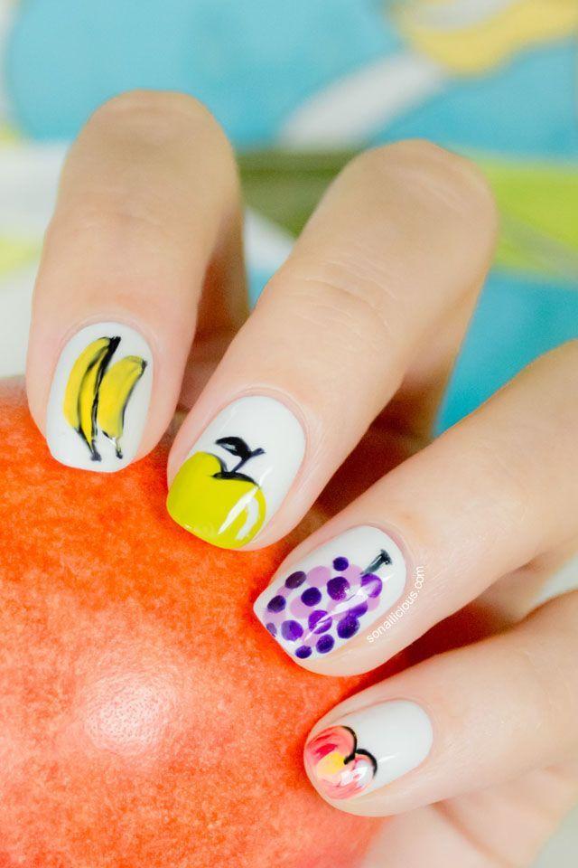 33 Fruity Nail Art Design Examples | Pinterest