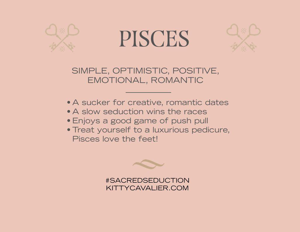 Seducing pisces