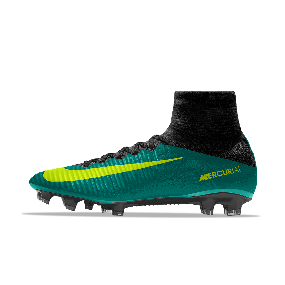 0c8941519 Nike Mercurial Superfly V FG iD Men s Firm-Ground Soccer Cleats Size 12.5  (Green) - Clearance Sale