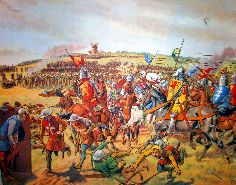 Картинки столетней войны между англией и францией