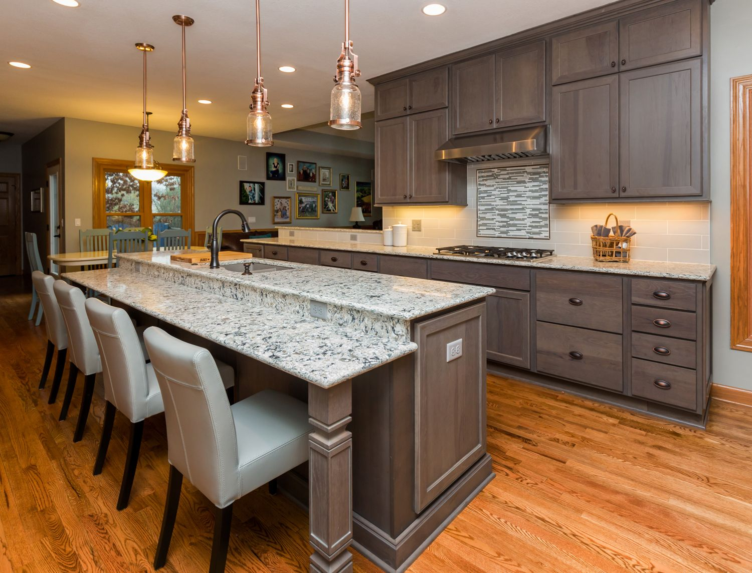 island seating areas can be raised even or even lower like this large island home on kitchen island ideas organization id=85700