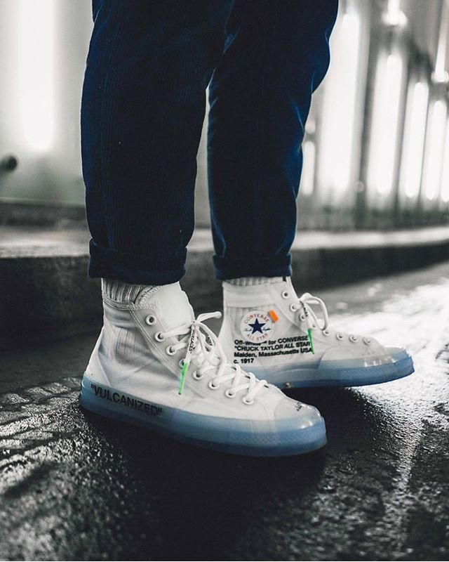 336b78ec669c Off White x Converse Chuck Taylor All-Star by  sizetenplease ...