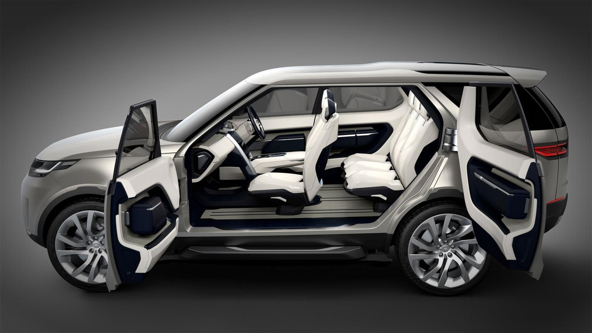 2014 Land Rover Discovery Vision Concept Luxury Suv 2014 Land
