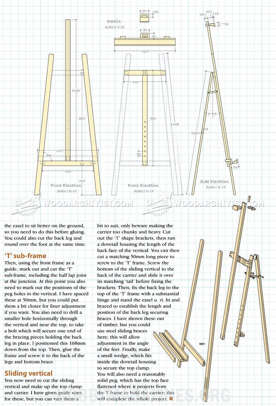 artist easel plans woodworking plans easels woodworking easel woodworking projects