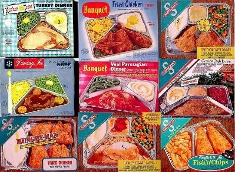 Frozen Tv Dinners You Cook In The Oven Instant Recipes My Childhood Memories Childhood Memories