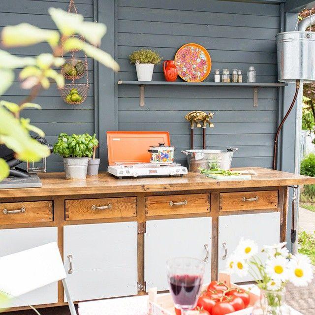 Meine DIY outdoor Küche, ab jetzt leben wir draußen ...