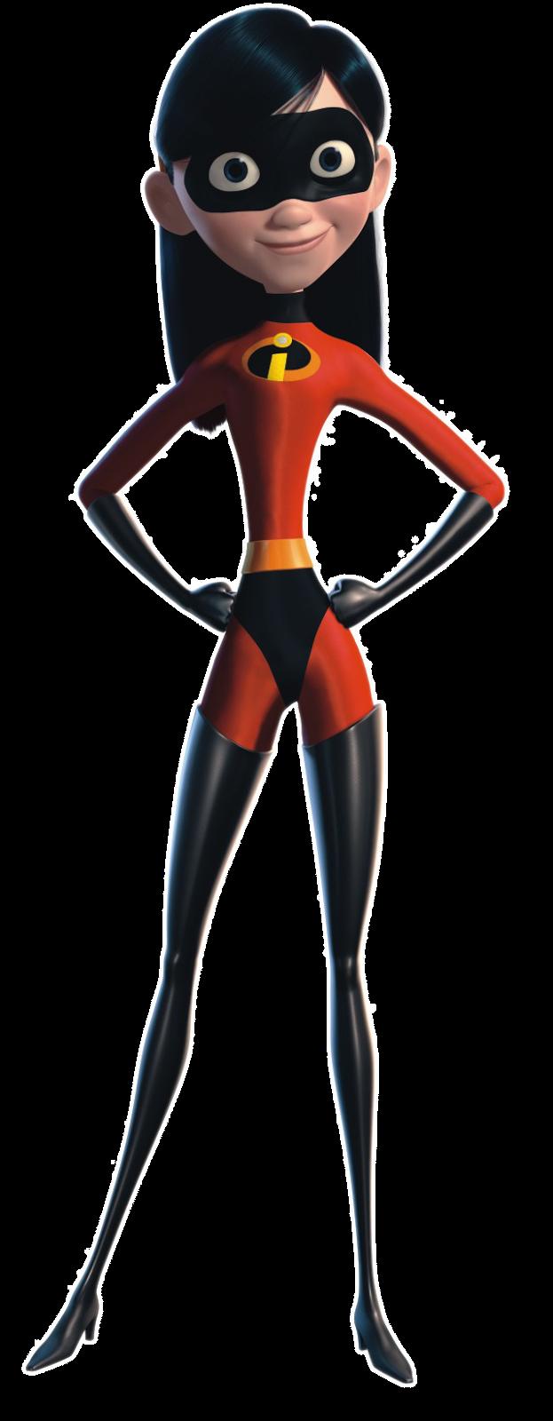 Cartoon Characters The Incredibles Png Los Increibles Personajes Violet Parr Violeta Los Increibles