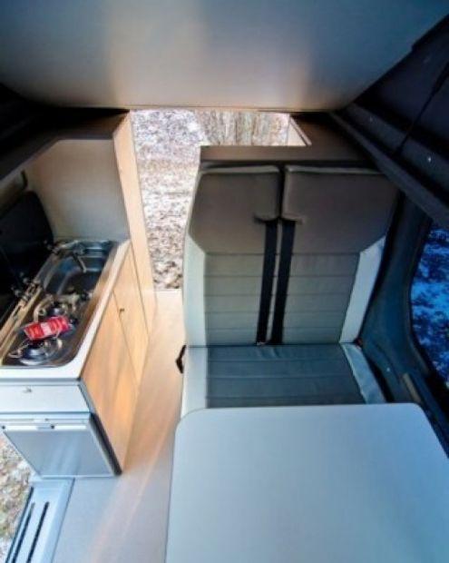 WESTFALIA furgonato opel vivaro con bagno - Foto 5 - camper - caravan - roulotte Firenze ...