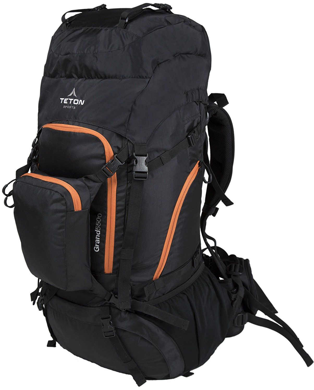 TETON Sports Grand 5500 Backpack  Ultralight Backpacking Gear  Hiking  Backpack for Camping e82a3460342e8