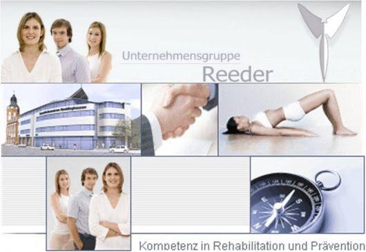Unternehmensgruppe Reeder Physiotherapie stellt sich vor bei Rehacon AG http:...