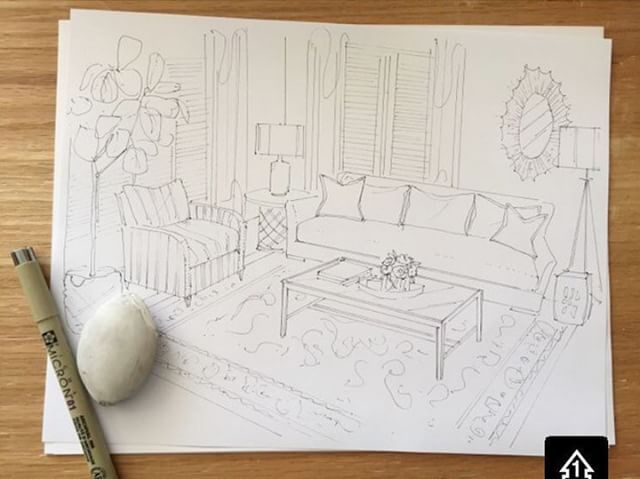 You know a design is going to be good when it looks as good on paper as it does in your head. Love helping our design clients visualize their spaces from the very beginning. Call and ask about our design services if you're in need of a little help! #alicelaneinteriordesign