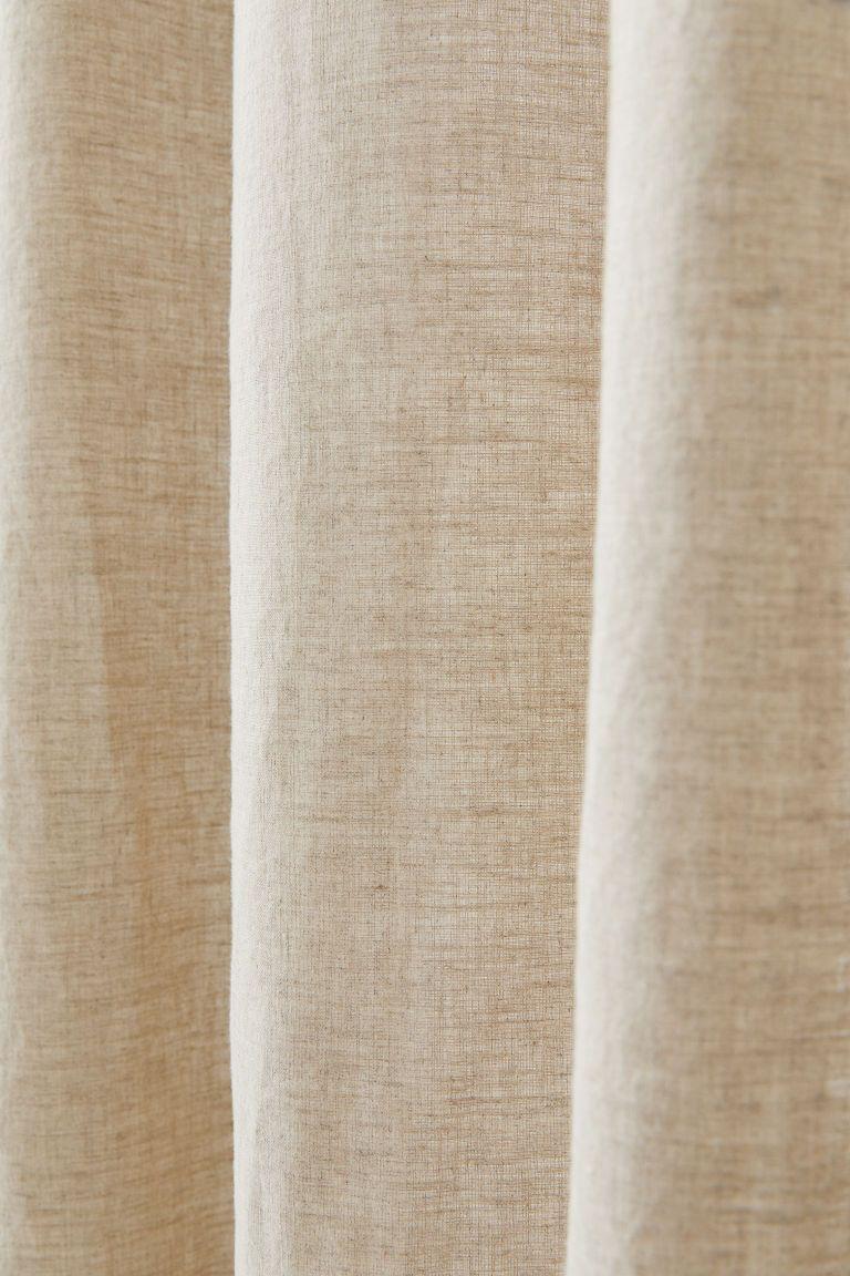 Rideaux En Lin Lot De 2 A软装方案 Linen Curtainscurtains 和 Home