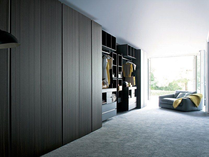 Estel mobili ~ Lacquered wooden wardrobe sketch estel casa line by estel group