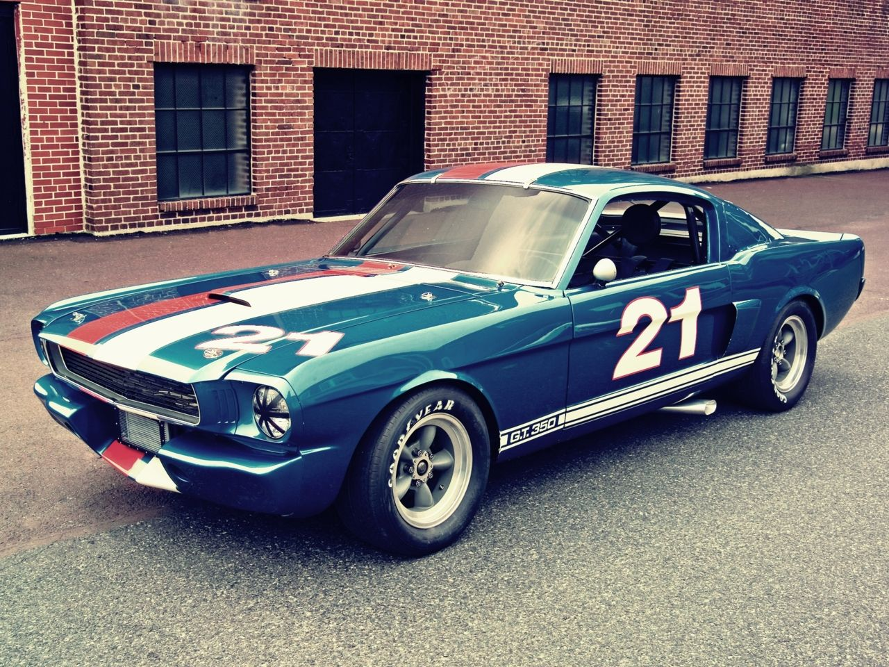 1966 Ford Mustang Shelby GT350H SCCA B-Production Race Car.
