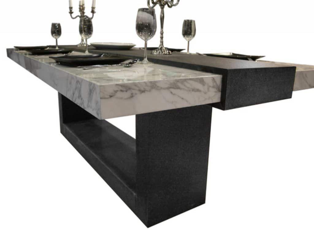 White Marble Dining Table Marble Dining Table Design Ideas Cost And Tips Sefa Stone Stone Dining Table Dining Table Marble Dining Table