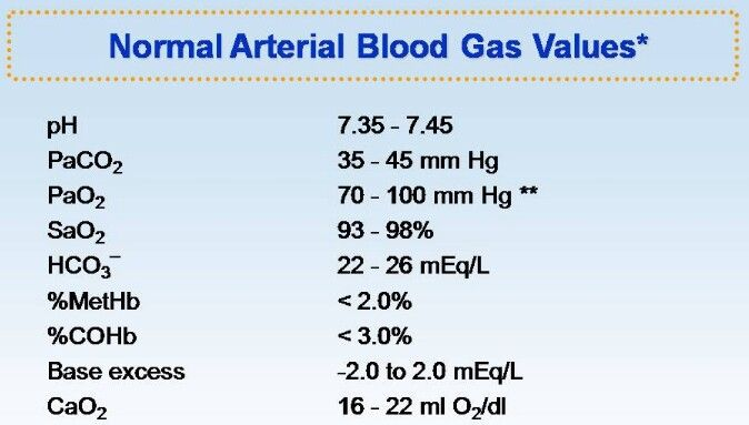Normal ABG Valves