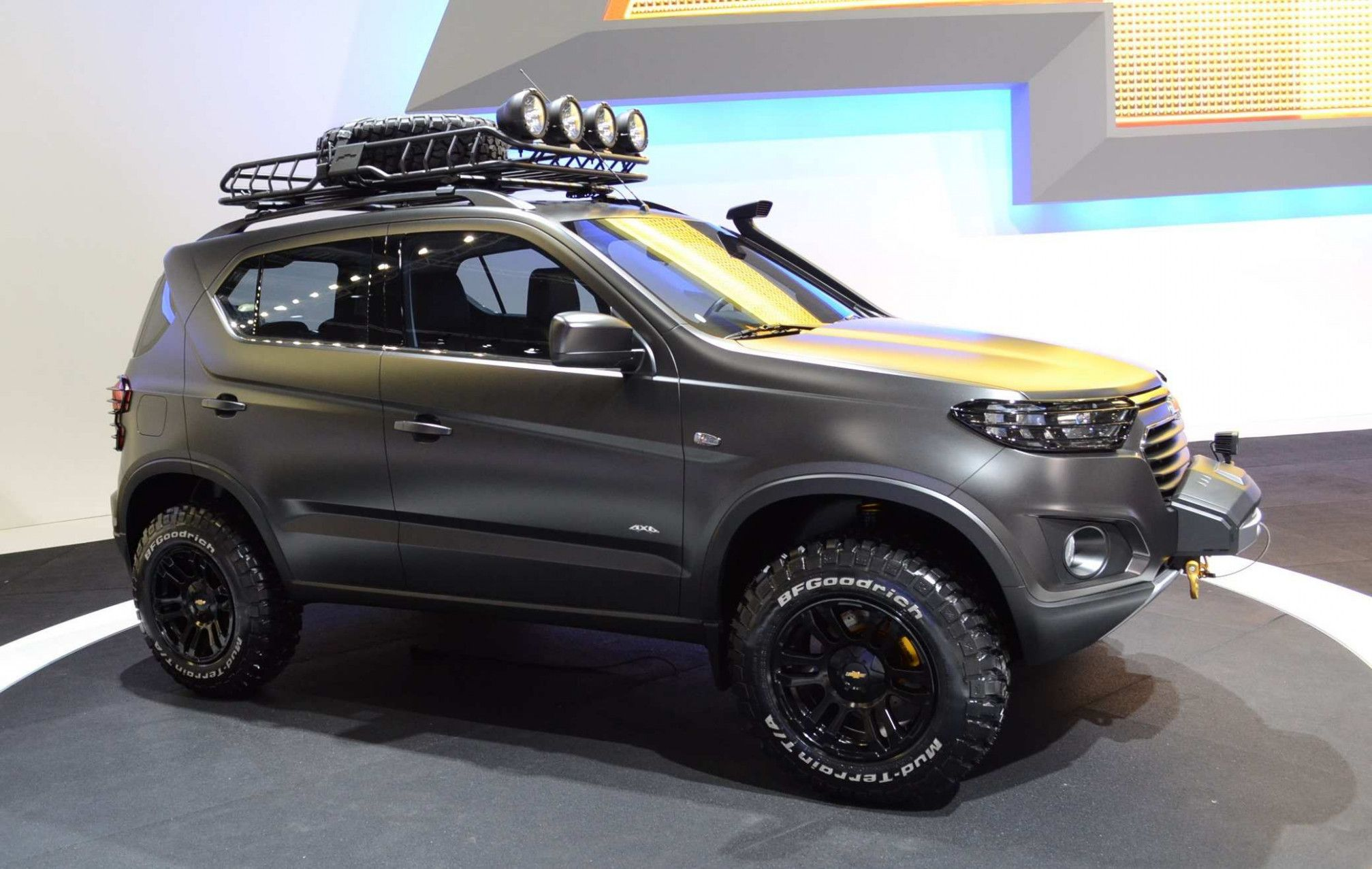 Chevrolet Niva 2020 First Drive