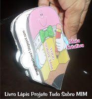 Livro Lápis Projeto Identidade | Ideia Criativa - Gi Barbosa Educação Infantil