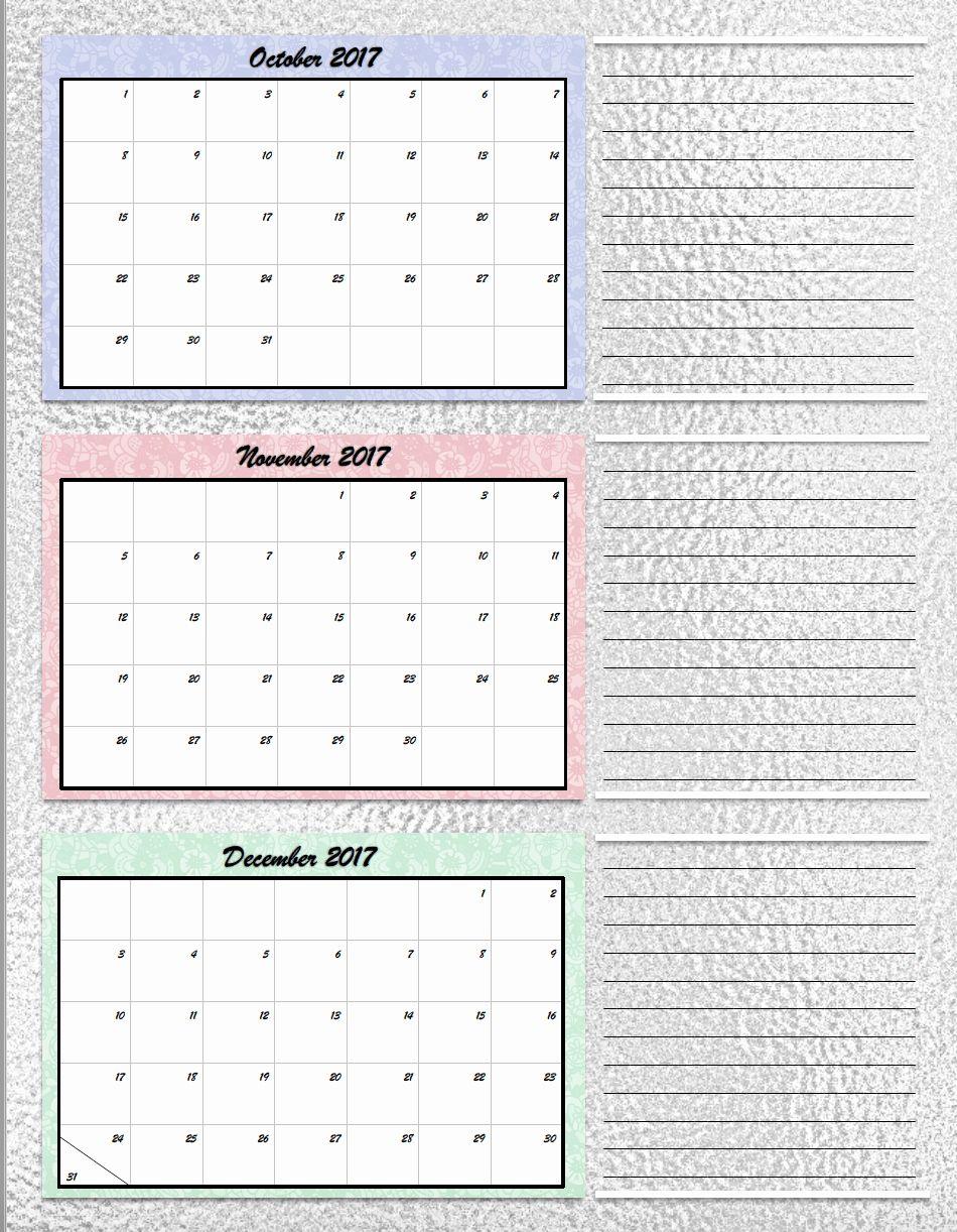 Free Blank Calendar Template 2017 Best Of Free Printable 2017