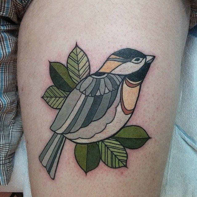 Beautiful Realistic Chickadee Tattoo By Australian Realism: Chickadee Tattoo, Modern Tattoos