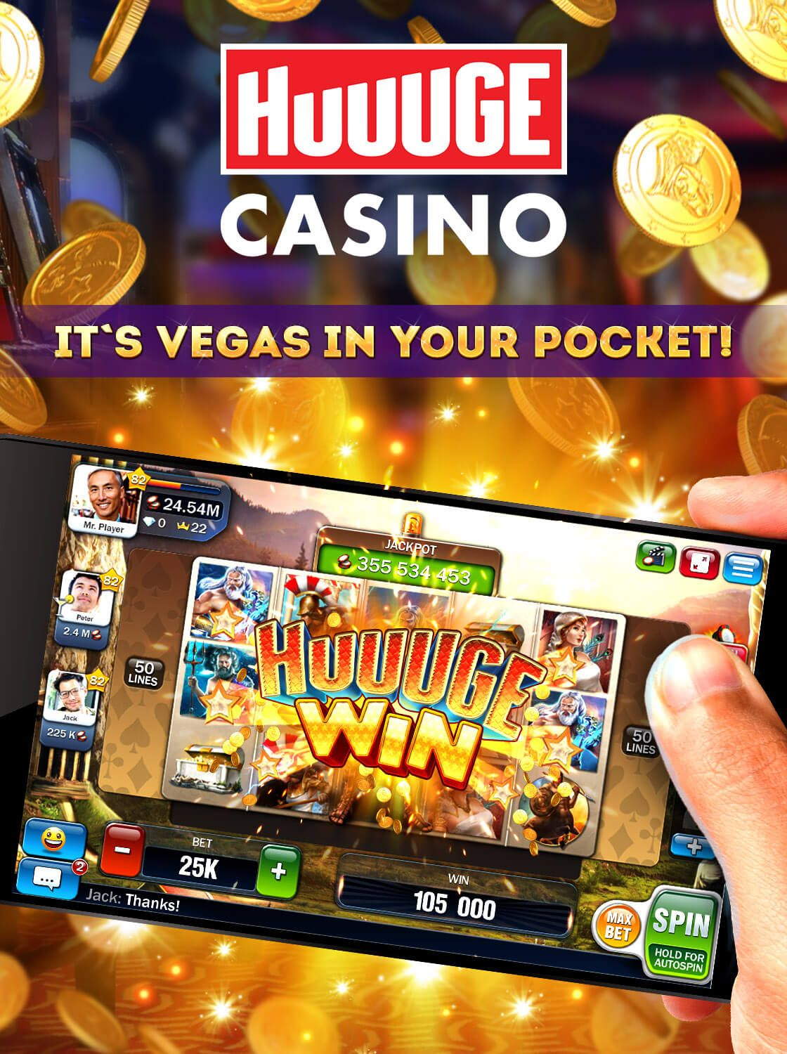 Pin on Huuuge Games The Best Social Casino App