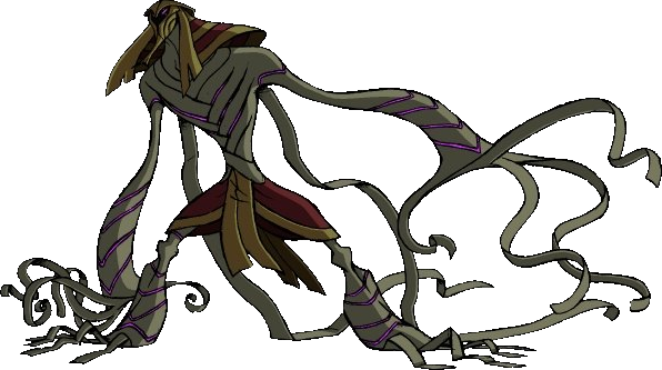 The Mummy Is A Thep Khufan Who Once Served Zs Skayr His First Appearance Was In Under Wraps He Was Sent By Viktor To Find Ben 10 Alien Design Halloween Band