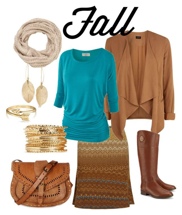 """""""Fall Style #2"""" by gillgal on Polyvore featuring Missoni, maurices, Lulu*s, Tory Burch, Bling Jewelry, Warehouse, WorkWear, summertofall, fall2015 and nativeinspired"""