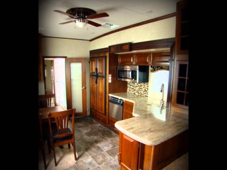 2013 Alpine 3495Fl Front Living Room Keystone Rv Fifth Wheel For Prepossessing Fifth Wheel Campers With Front Living Rooms Decorating Inspiration