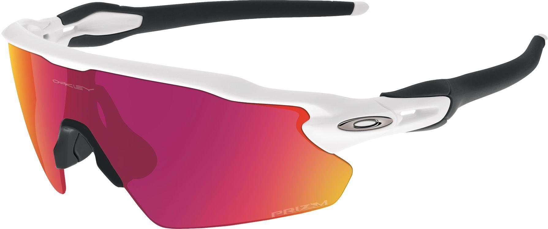 Oakley Radar EV Pitch Baseball Sunglasses, Polished White