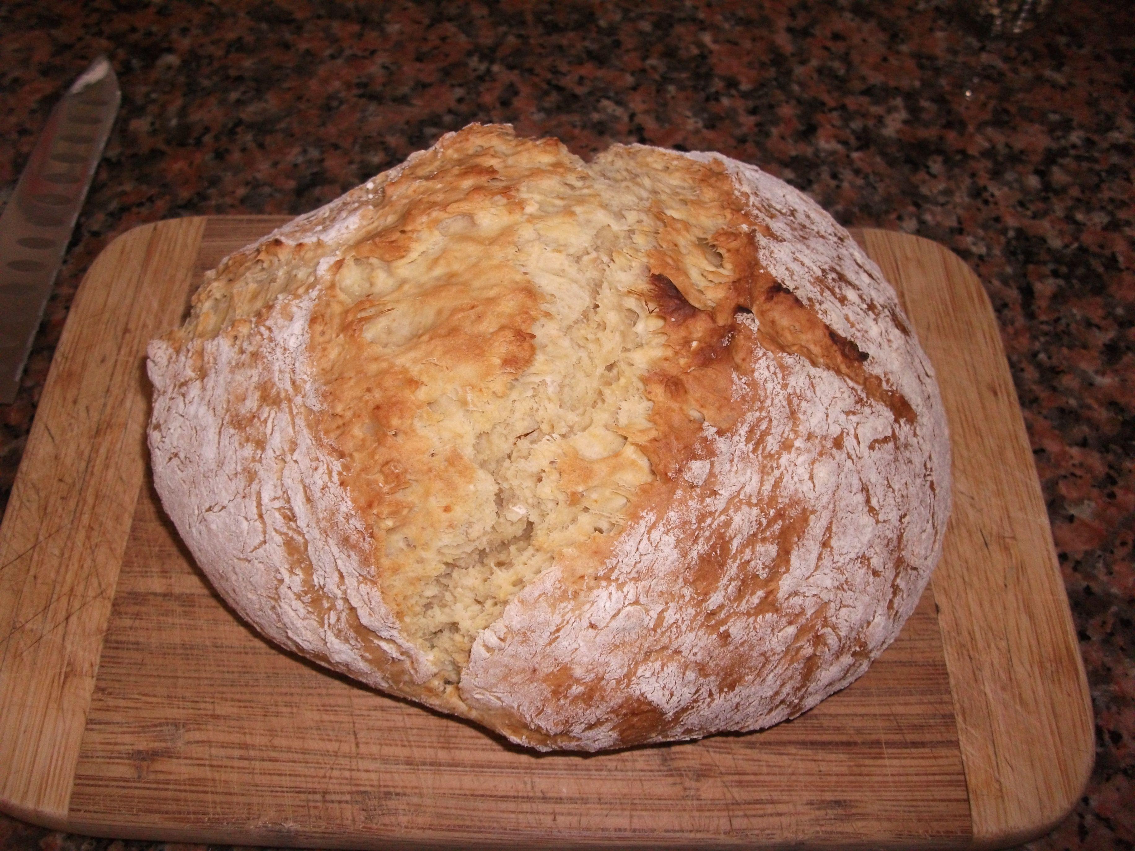 Soda Bread Recipe, no yeast, no proving, no kneading ...