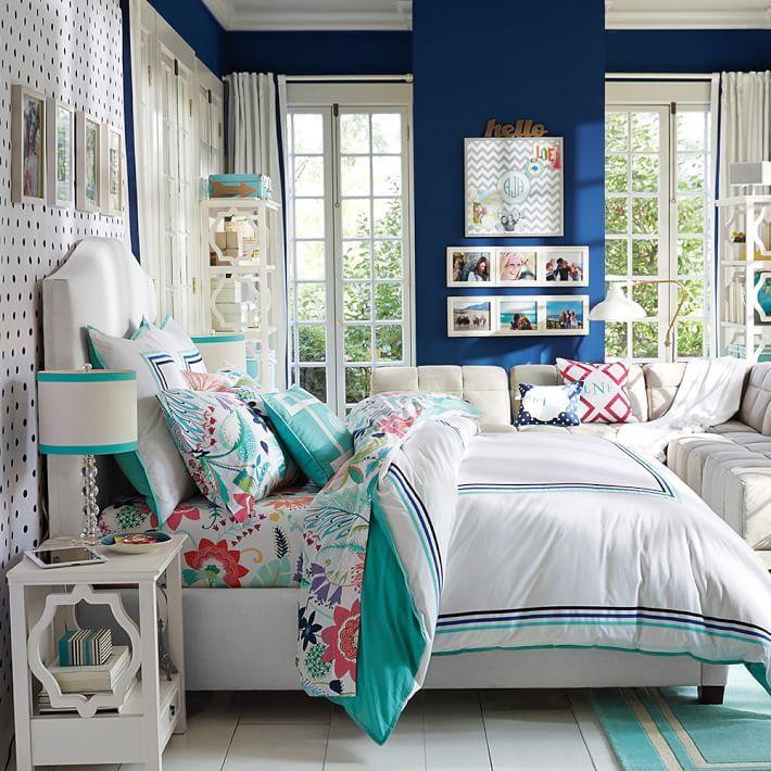 Rooms To Go Bedroom Furniture For Kids: Fantastic Floral Duvet Cover + Sham