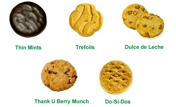 girl scout coookies - http://potterest.com/girl-scout-coookies