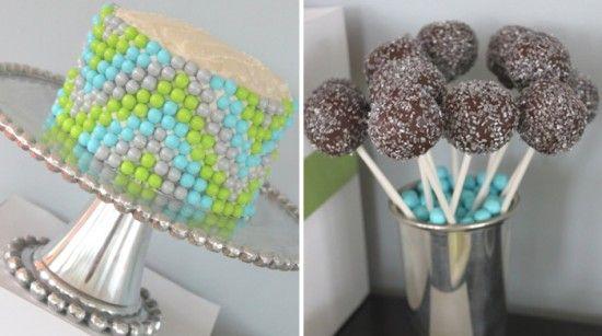 This cake rocks!