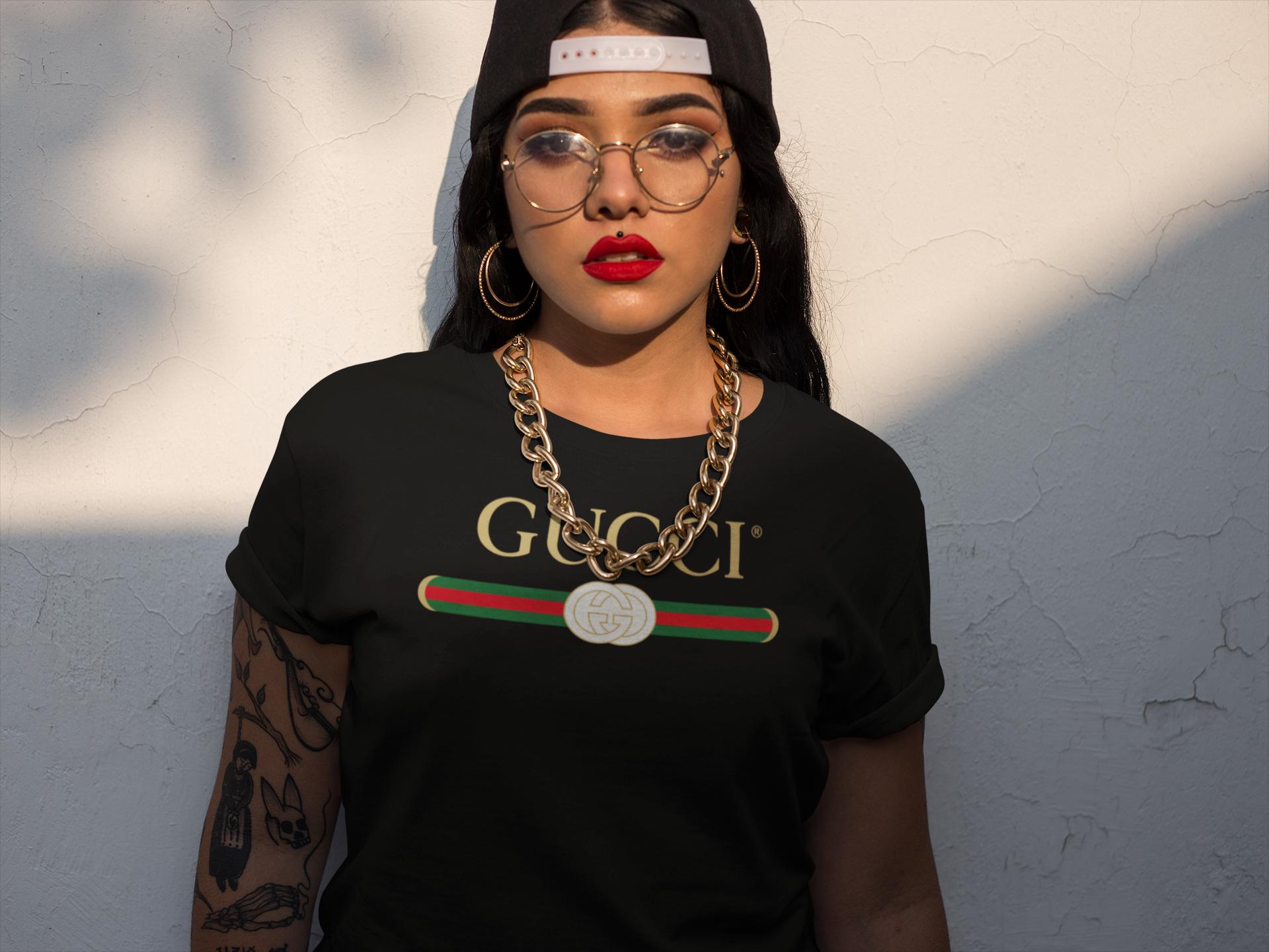 b5c279319 🔥I LOVE THIS!! 🔥 Gucci Shirt - Gucci Vintage - Gucci Tshirt - Gucci  Inspired - Gucci Womens - Gucci Mens - Gucci Gang - Black Unisex Tshirt