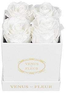 Dacor Venus ET Fleur Venus ET Fleur Eternity De Venus Le Petite Square Eternity Roses - Pure White Rose #purewhite