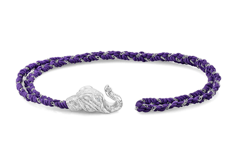 Elephant bracelet unisex elephant bracelet diamond eyes and