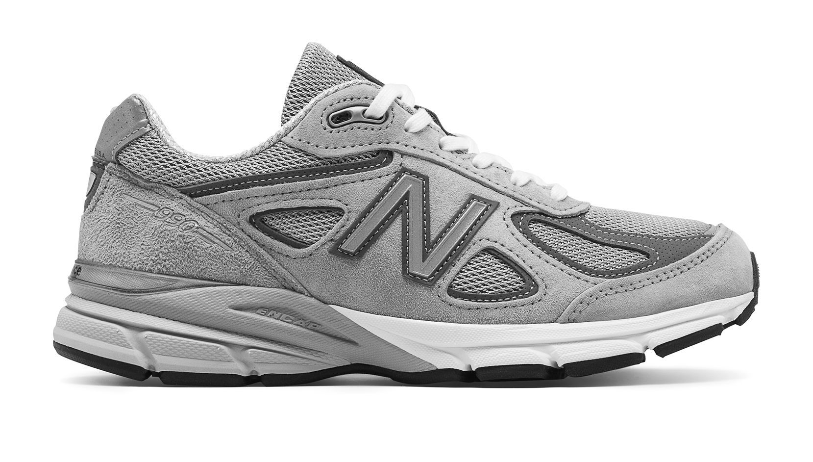 New Balance 990v4 Made in US, Grey with Castlerock (With ...