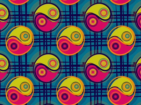 """ying n yang"" by mobooksnart   Pattern, Pretty patterns, Yang"