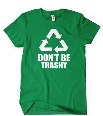 Earth Day t-shirt in green